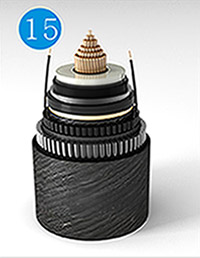 Optical Fibre Composite Submarine Cable for Rated Voltage of 220kV DC