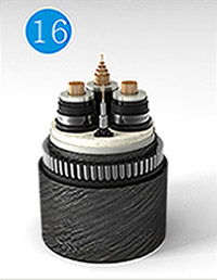 Optical Fibre Composite Submarine Cable for Rated Voltage Up to and Including of 35kV
