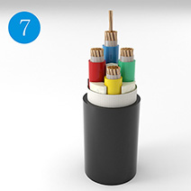 Copper, LSZH Insulated Flame Retardant Flexible Cable