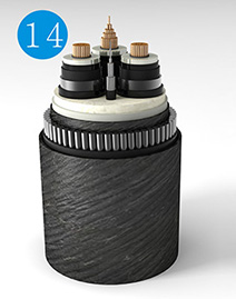 Optical Fibre Composite Submarine Cable for Rated Voltage of 220kV (Three Core)