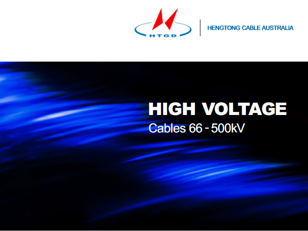 High Voltage Cables 66 - 500kV