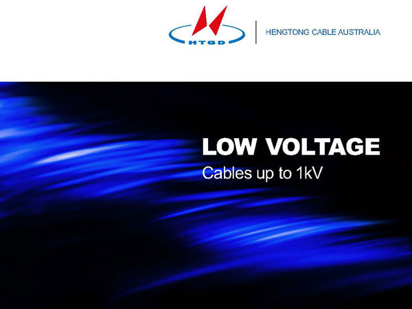 Low Voltage Cables up to 1kV